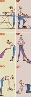 Mal di schiena può essere di 6 tipi